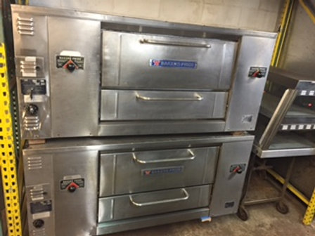 Bakers Pride 4 Pie Pizza Oven - Model D125 - 65""