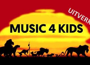 Music4Kids 2016: Tekenfilms!