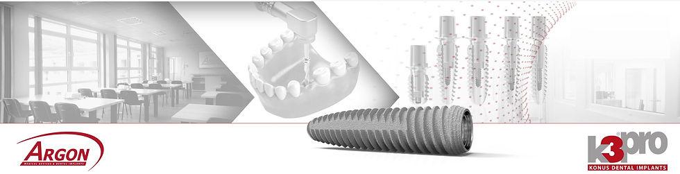 K3pro deutsches Implantat von Argon