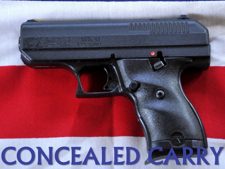 Considerations Regarding Concealed Carry