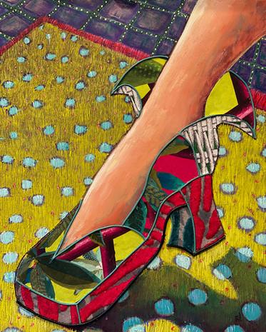Lady Gaga's Shoe