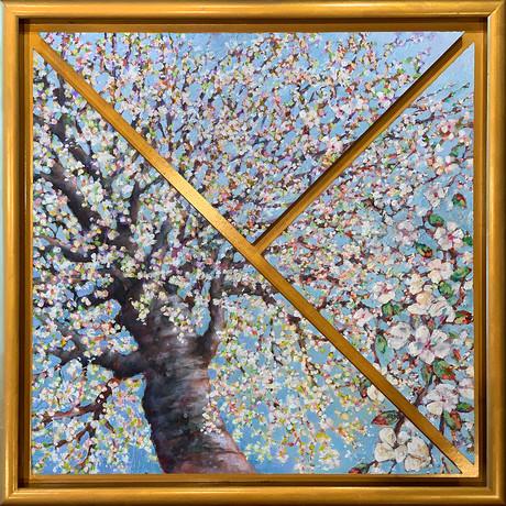 Cherry Blossom Triptych