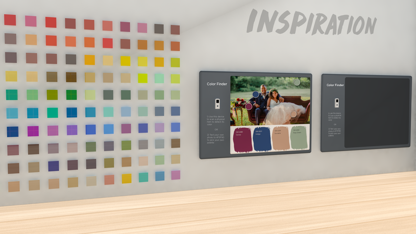 1: Inspiration Area