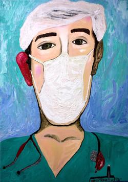 Anestesia 2. 2019. 70 x 50 cm