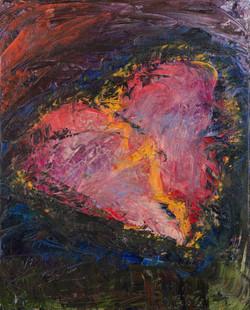 The heart. 2019. 70 x 50 cm