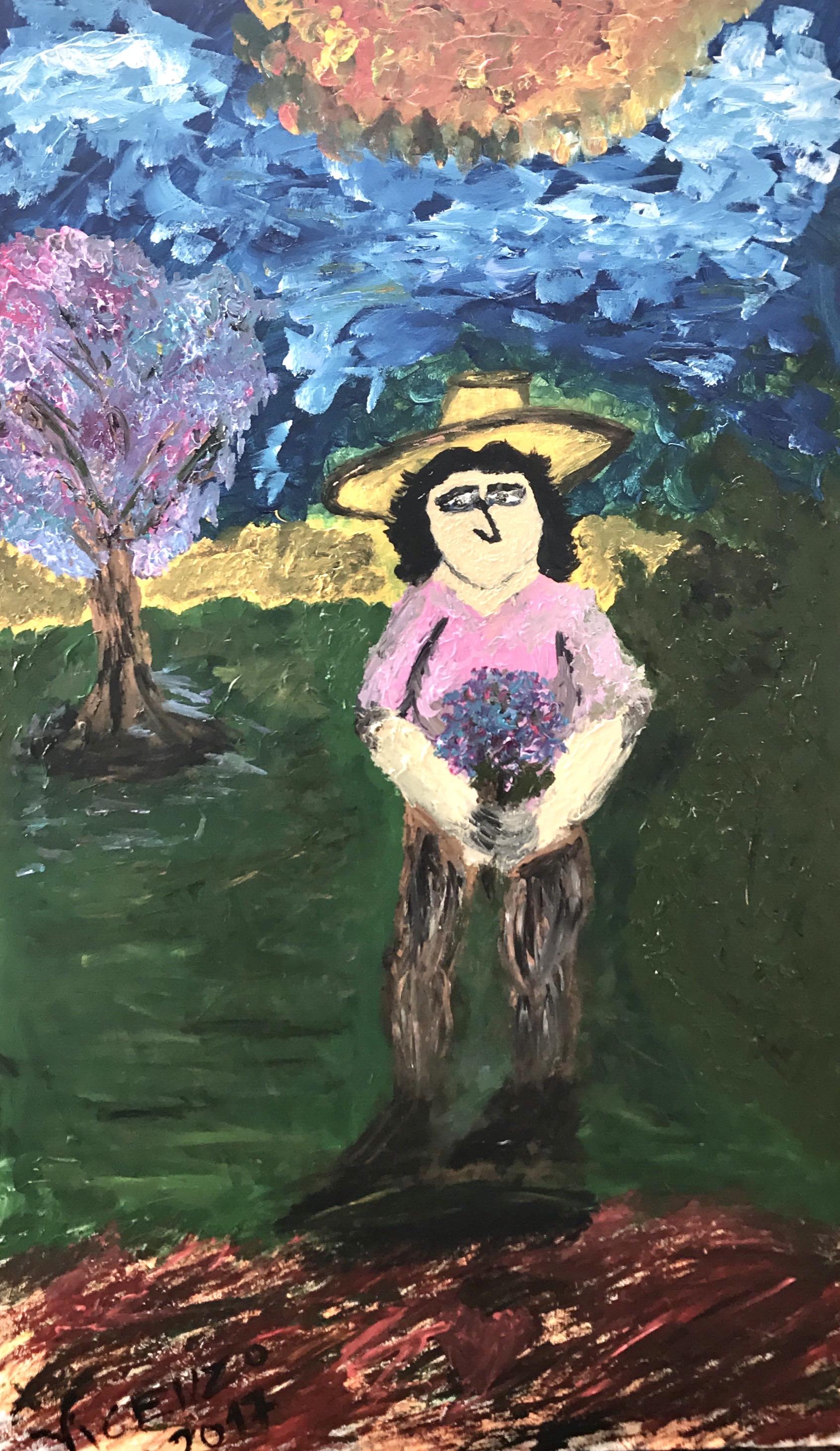 A Gaúcha. 2017. 180 x 150 cm