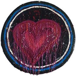 Melting heart.2019. Diâmetro 40 cm