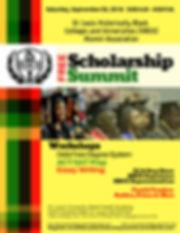 STLHBCUAA Scholarship Summit Flyer-FINAL