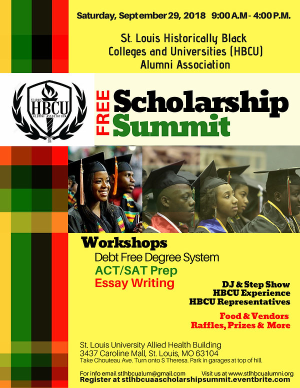 STLHBCUAA Scholarship Summit Flyer-FINAL