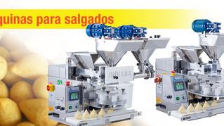 Conheça Modelos das máquinas para salgados