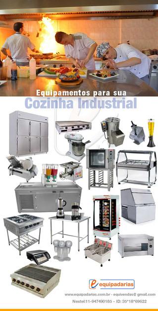 Equipamentos Para Cozinhas Industriais