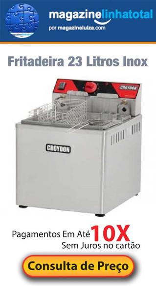 Fritadeira elétrica de 23 litros