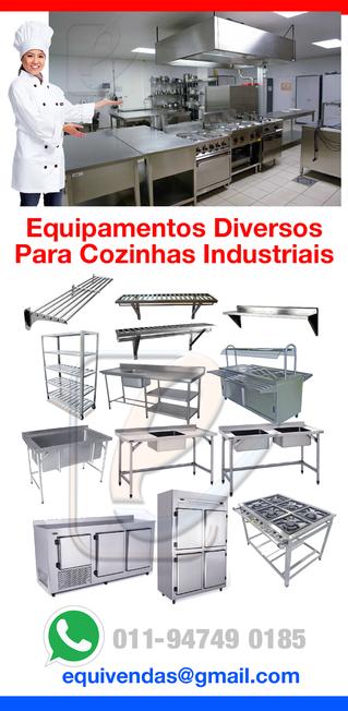 Módulos em aço inox Para cozinhas Profissionais