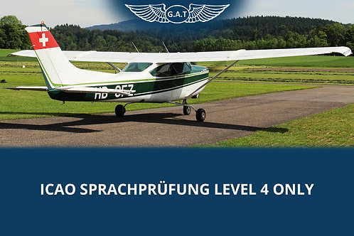ICAO Sprachprüfung Level 4 ONLY