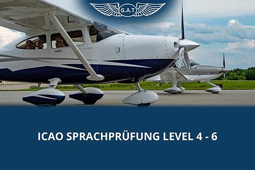 ICAO Sprachprüfung Level 4 - 6
