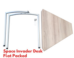 Space Invader Flat Packed Desk