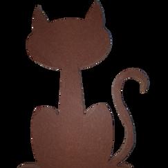 Cartoon Cat Silhouette