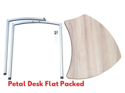 Petal Desk Flat Packed