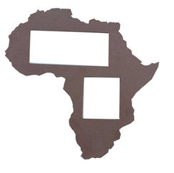 Africa Frame Silhouette