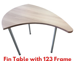 Fin Table with 123 Frame