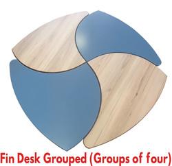 Fin Desk Grouped