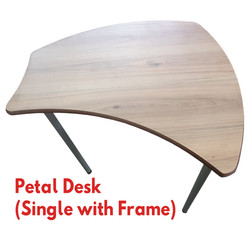 Petal Desk with Frame