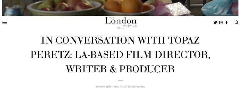 The London Musings Article