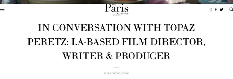 The Paris Musings Article