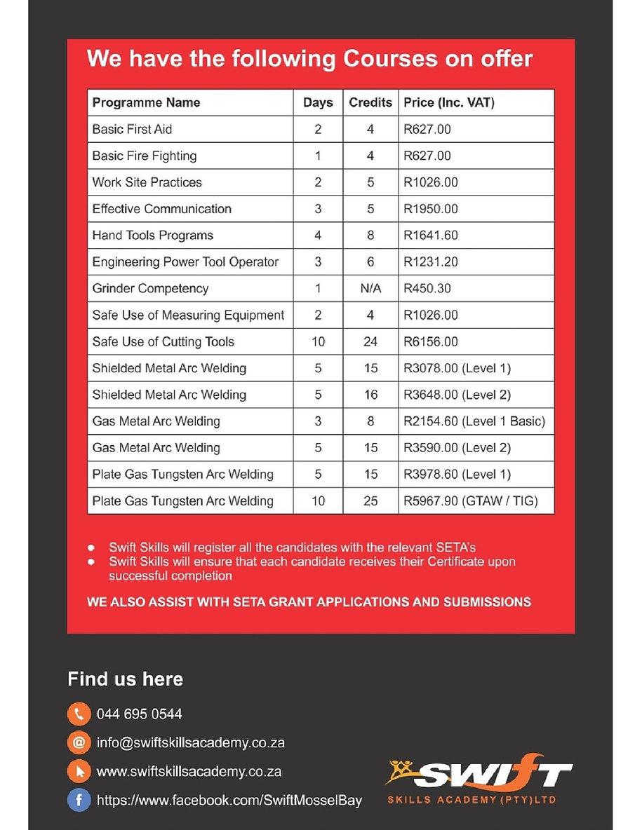 mossel bay advertiser | latest learnerships