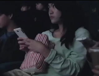 These People Whip Out Their Phones In A Movie Theater. They Never Saw It Coming!