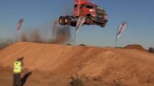 Semi Truck Jump