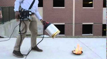 College Students Invented a New Fire Extinguisher that is... Umm, Sound-Powered? Amazing!