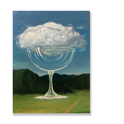 "Jessi Son, ""Magritte Study,"" 2020"