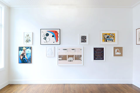 2- Installation view of The Winter Exhib