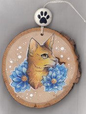 Abyssinian with Blue Lotus