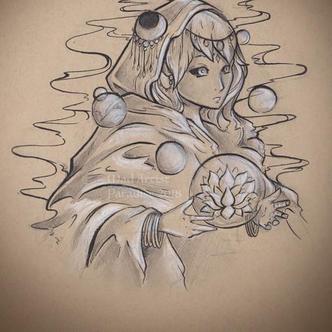 Dark Elf with Lotus