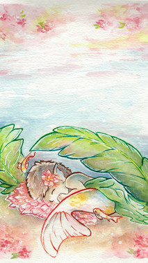 Spring: Koi Mermaid