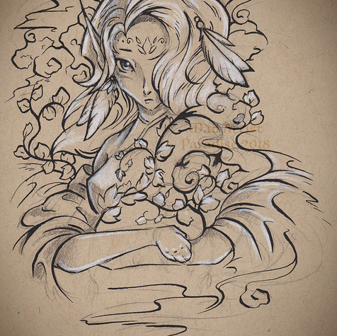 Wind Elf with Ivy
