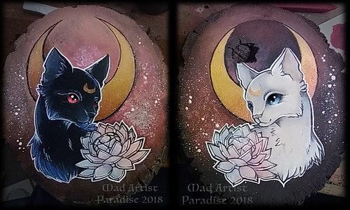 Sailor Moon: Luna and Artemis