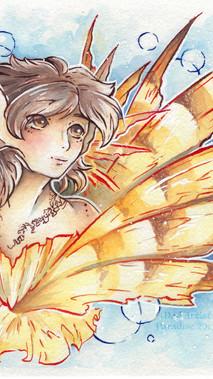 Autumn: Lionfish Mermaid