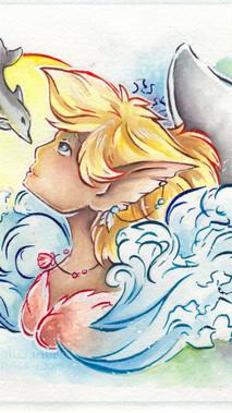 Summer: Dolpi Mermaid