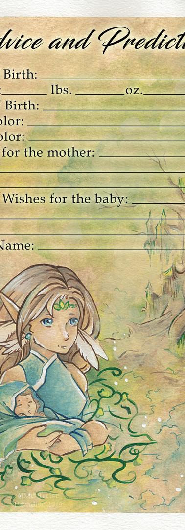Baby Shower - Advice