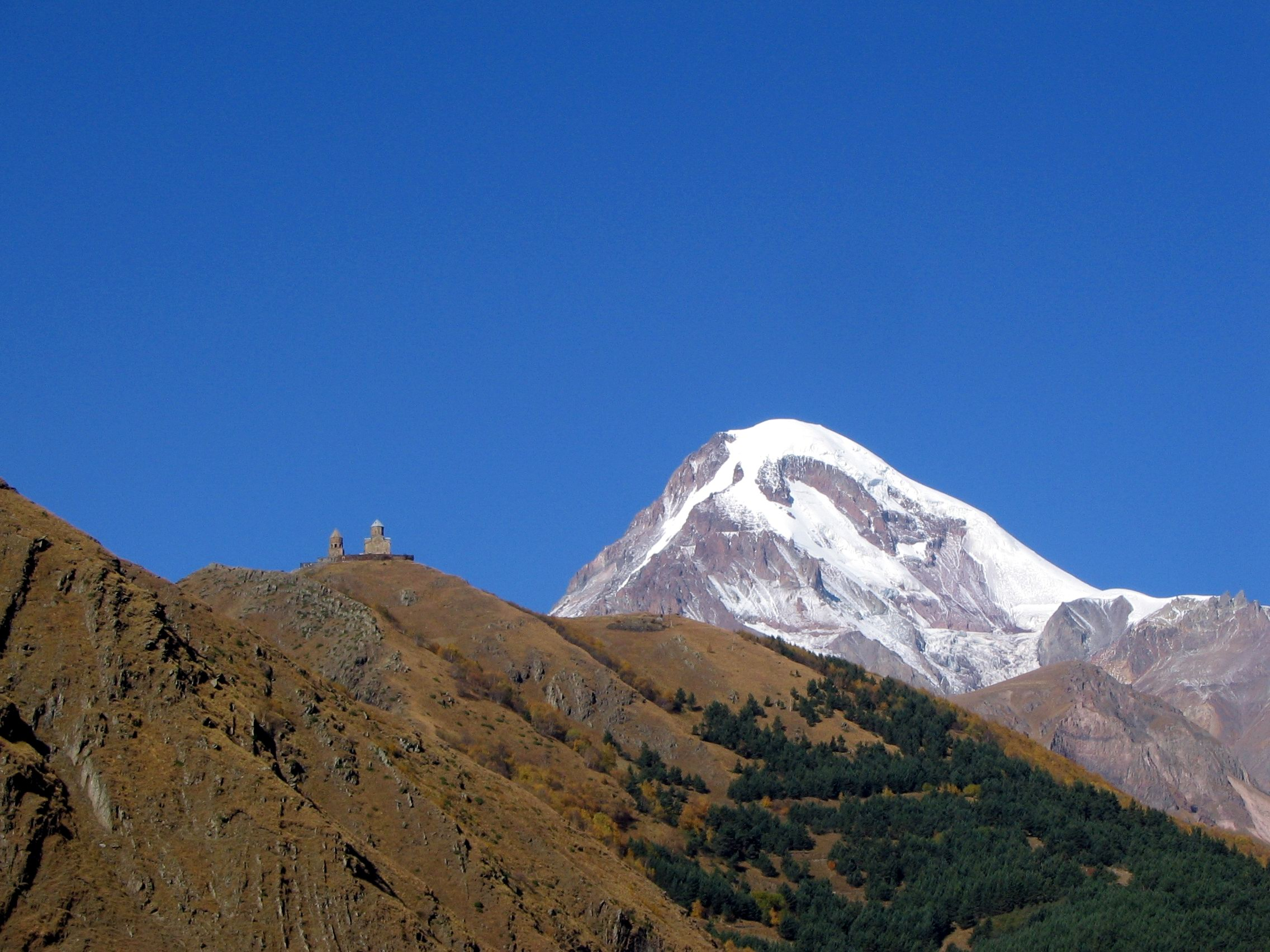 Kazbegi and Gergetis Trinity