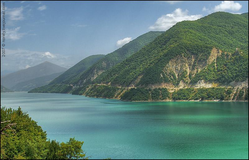 Jinvali Reservoir