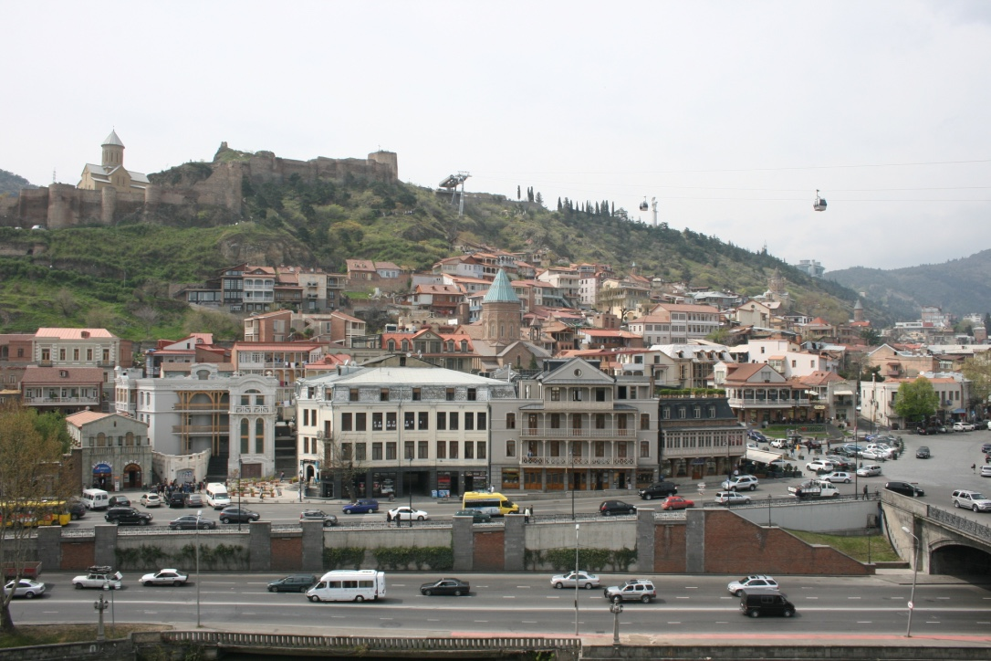 Tbilisi Old Town and Narikala Fortress