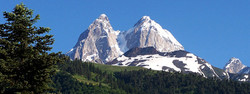 Ushba Glacier