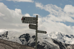 Information for hikers in Svaneti