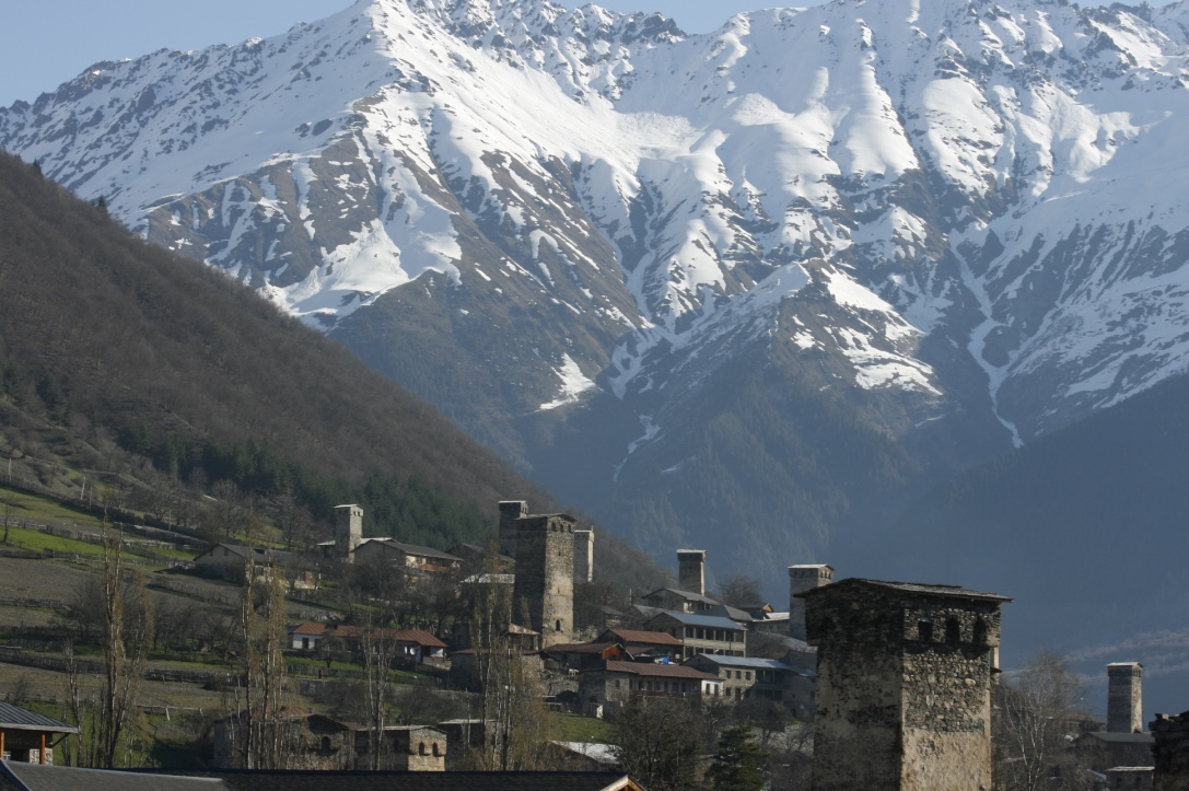Mestia Mountains and Towers of Svaneti