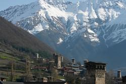 Mestia Mountains and Towers of Svaneti