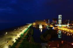 Batumi Boulevard at Night